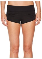 TYR Solid Della Boyshorts (Black) Women's Swimwear