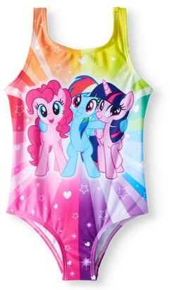 My Little Pony Toddler Girl One-Piece Swimsuit