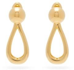 Loewe Drop Gold-tone Earrings - Gold