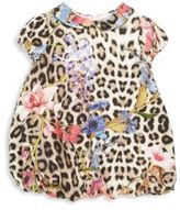 Roberto Cavalli Baby's Leopard-Print Bubble Dress
