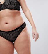 Asos Gianna Diamond Lace Hipster Bikini Bottom