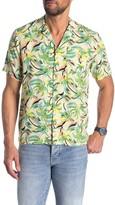 Scotch & Soda Hawaiian Fit Short Sleeve Camp Shirt