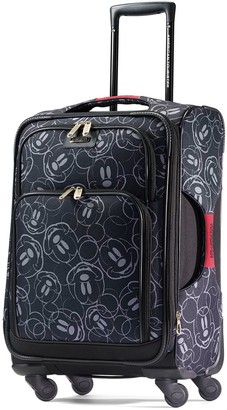 American Tourister Disney's Mickey Mouse Face Print Spinner Luggage
