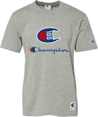 Champion Century Short Sleeve T-Shirt - Oxford Grey