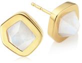 Monica Vinader Petra Stud Earrings