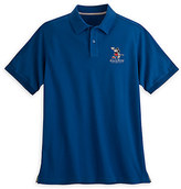 Disney Mickey Mouse Polo for Men - Walt Studios - Navy