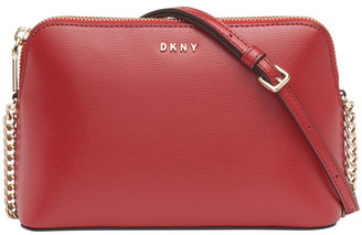 DKNY R94E86558RD BRYANT Zip Top Crossbody Bag