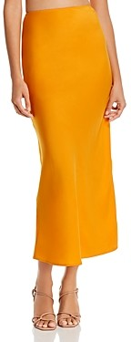 WAYF Jaden Bias Midi Skirt