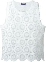 Ungaro crochet tank top - women - Cotton - 46