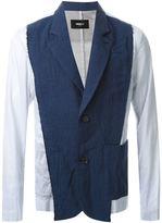 Yang Li contrast blazer