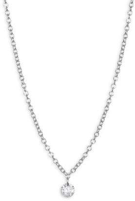 Meira T 14K White Gold & Diamond Pendant Necklace
