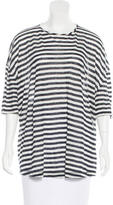 Derek Lam 10 Crosby Striped Linen Top