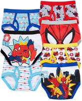 Spiderman LICENSED PROPERTIES 7-pk. Briefs - Toddler Boys 2t-4t