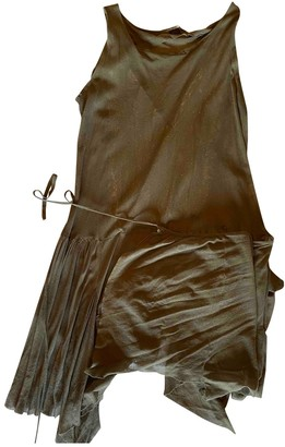 Preen Beige Cotton Dress for Women