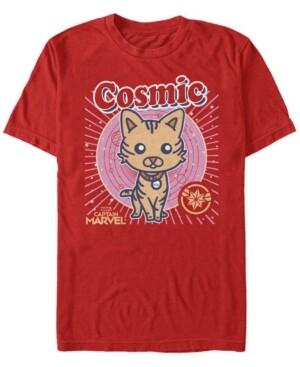 Marvel Men's Captain Cosmic Goose Kawaii Cartoon, Short Sleeve T-shirt