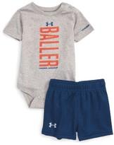 Under Armour Infant Boy's Baller Bodysuit & Shorts Set