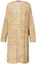 Ralph Lauren Crocheted Silk Cardigan