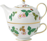 Wedgwood Wild Strawberry Tea For One