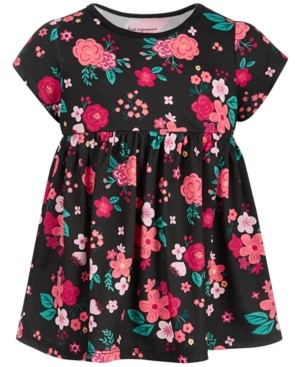 First Impressions Toddler Girls Holiday Rose Tunic, Created for Macy's