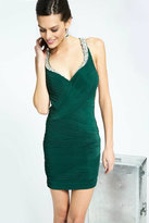 Jovani Stunning Evening Mini Dress with Jeweled Straps JVN98429