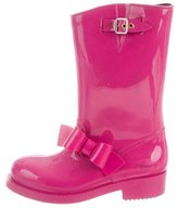 RED Valentino Bow-Accented Rain Boots