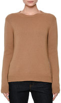 Valentino Long-Sleeve Knit Cashmere Sweater