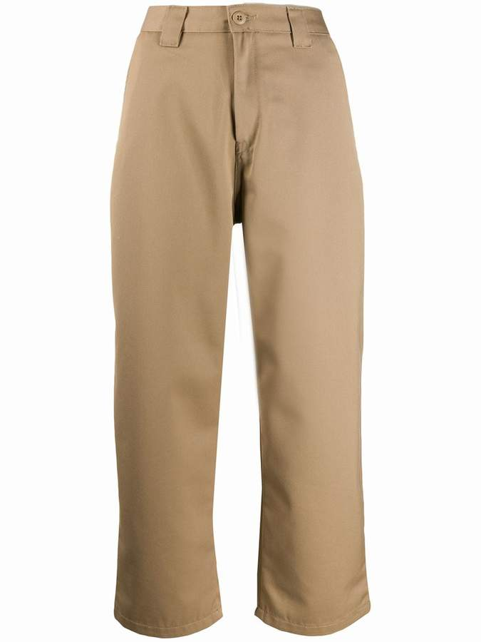 Carhartt Wip cropped tailored trousers