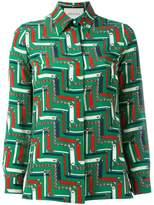 Gucci printed shirt