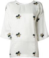 Victoria Beckham floral print blouse