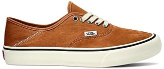 Vans Authentic SF ((Salt Wash) Atlantic Deep/Marshmallow) Lace up casual Shoes