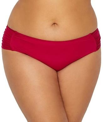 Becca Etc Plus Size Color Splash Hipster Bikini Bottom