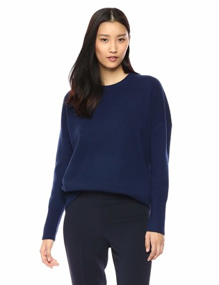 Theory Women's Relaxed Drop Shoulder Crewneck Sweater