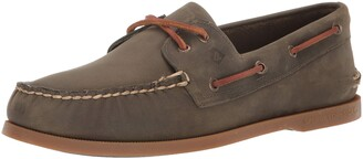 Sperry mens A/O 2-eye Leather Boat Shoe