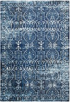 Panache Rizzy Home Transitional Scrollwork Trellis Rug
