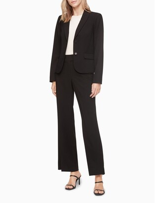Calvin Klein Two Button Black Suit Jacket