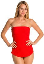 Gottex Architecture Bandeau One Piece Swimsuit 8112297