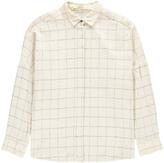 Sessun Checked Brushed Cotton Oversized Delima Shirt