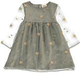 Douuod Era Gold Star Dress
