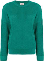 Laneus metallic thread slouchy sweater