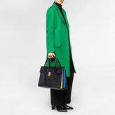 Paul Smith Women's Black Leather 'Concertina' Handbag