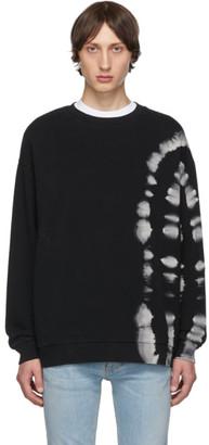 Marcelo Burlon County of Milan Black County Tie-Dye Sweatshirt