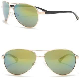 Vince Camuto Flash Mirror Aviator Sunglasses