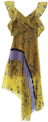 Self-Portrait Yellow Dress for Women