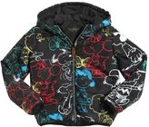 Finger In The Nose Snoopy Printed Nylon Padded Jacket