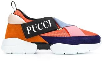 Emilio Pucci Multicoloured City Cross Trainers