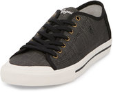 Original Penguin Chiller Linen Sneaker, Black