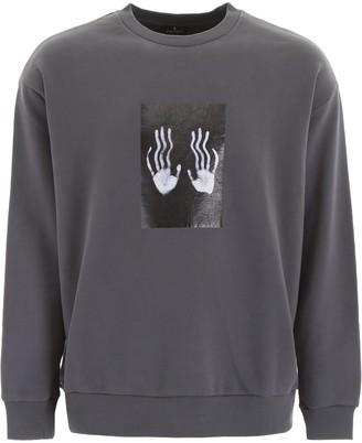 Marcelo Burlon County of Milan Hands Printed Sweatshirt