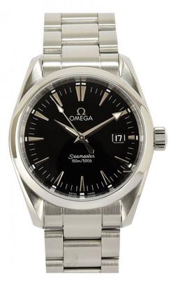 Omega Seamaster Aquaterra Black Steel Watches
