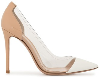 Gianvito Rossi Panelled Pumps