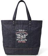 Polo Ralph Lauren Patriotic Denim Tote